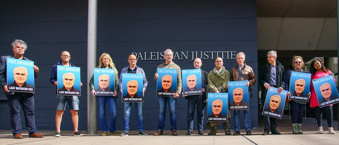 Hukukçu Hüseyin Demir, 'Vicdanlar 23 yılı çalınan Baybaşin'e sessiz kalamadı'