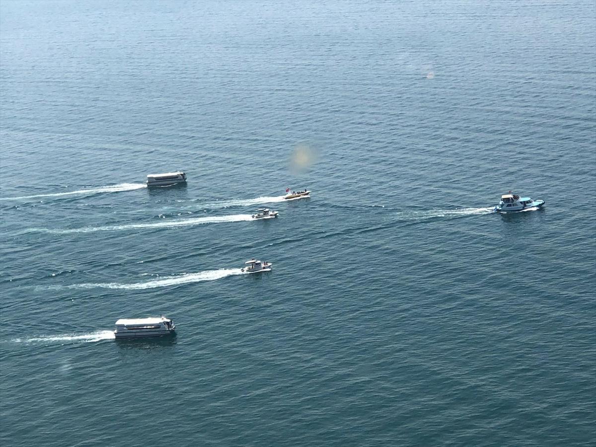 İçişleri Bakanı Süleyman Soylu'dan kaybolan tekneye ilişkin açıklama (1):