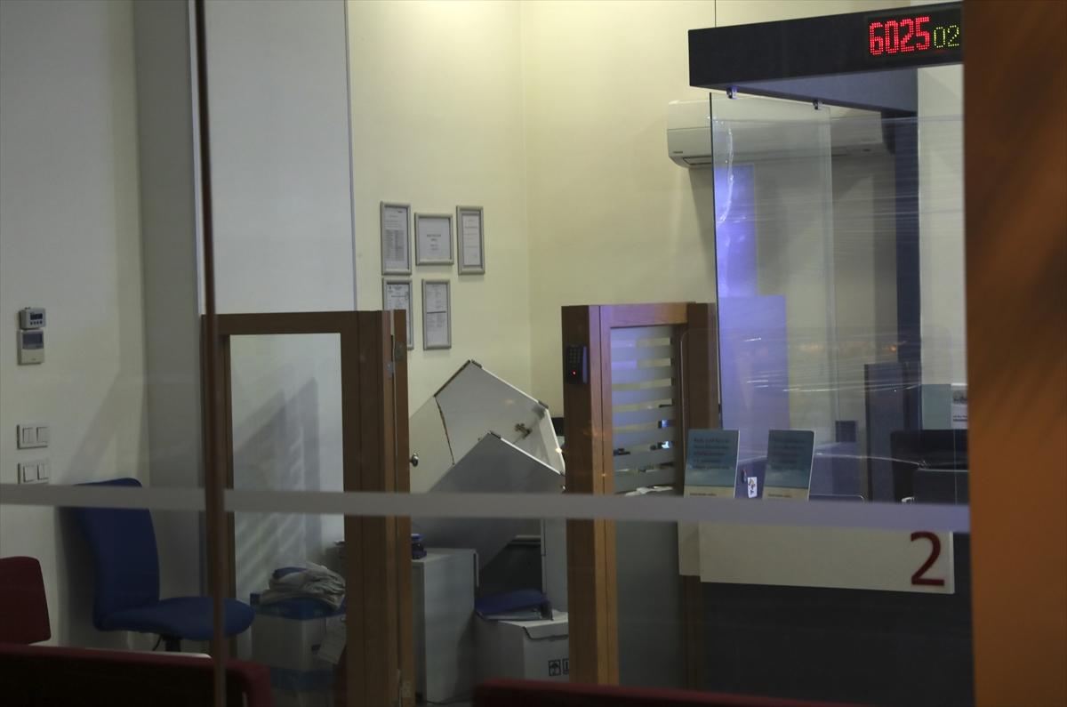 Başkentte banka soygunu