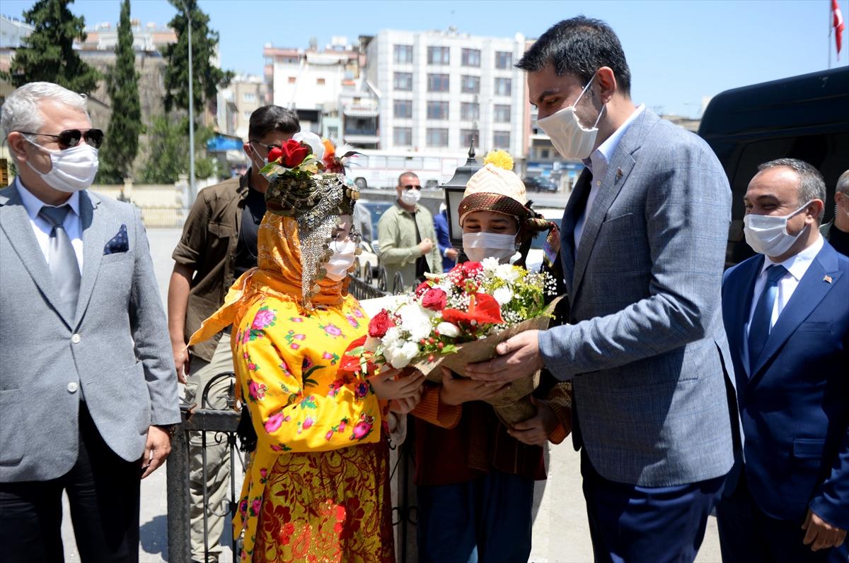 Çevre ve Şehircilik Bakanı Kurum Kilis'te