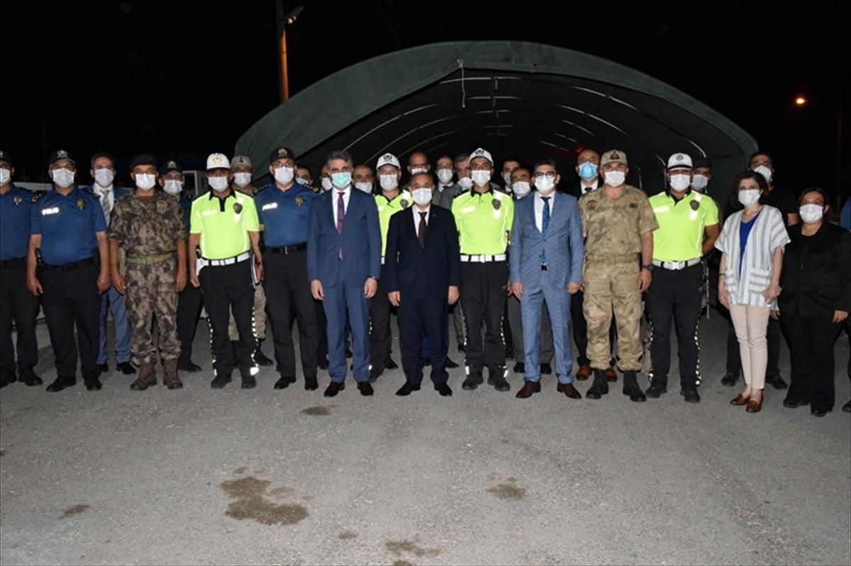 Emniyet Genel Müdürü Aktaş, Malatya'da trafik denetimine katıldı