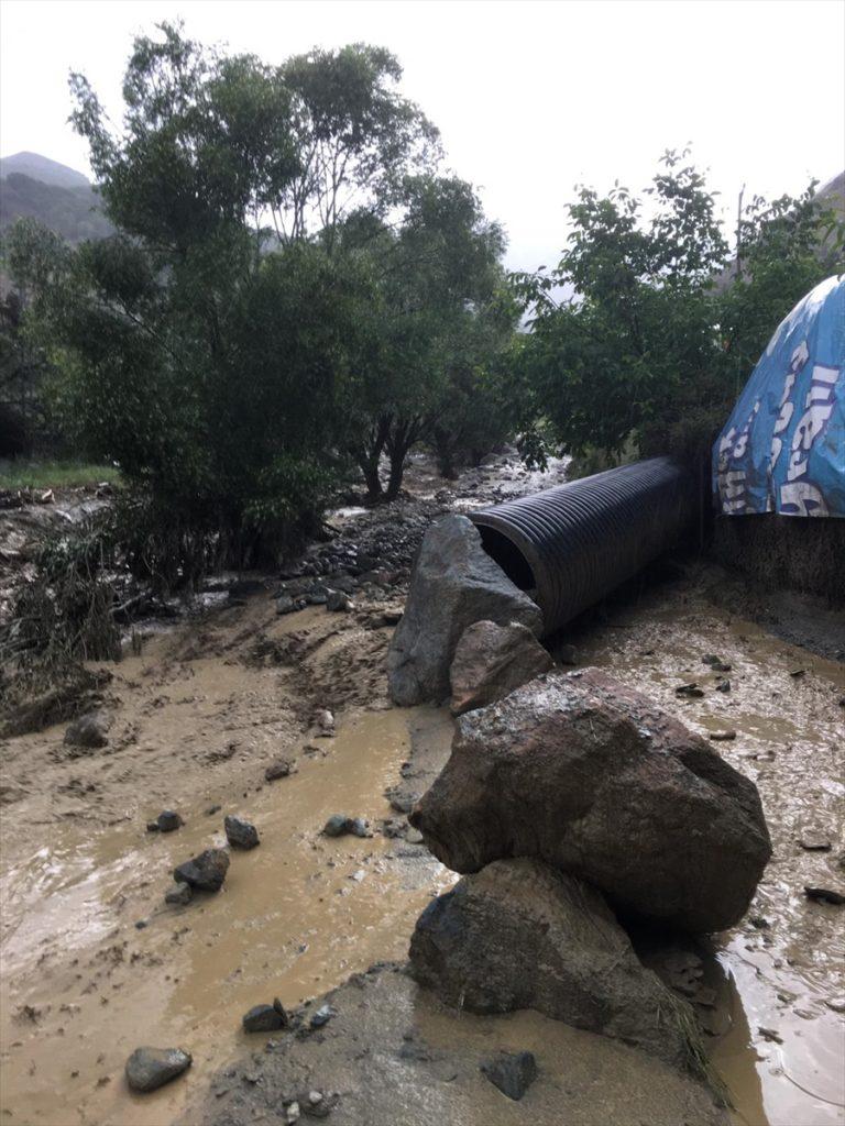 Erzincan'da sağanak nedeniyle kapanan köy yolları ulaşıma açıldı