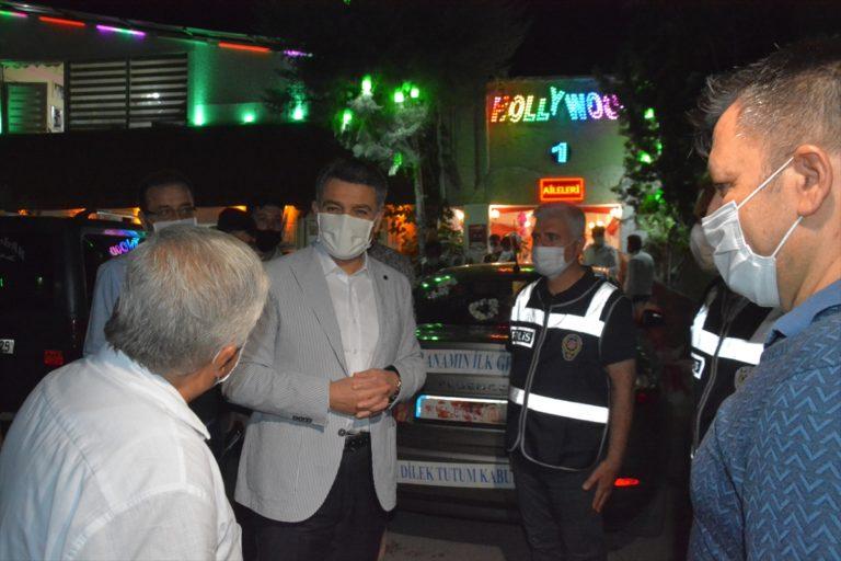 Gaziantep'te düğünlere Kovid-19 denetimi