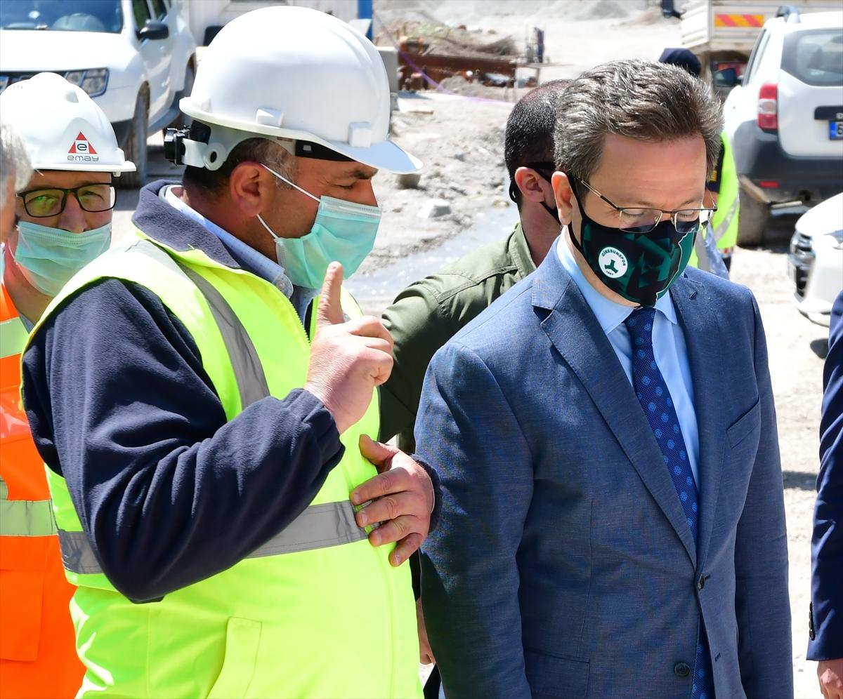 """Giresun Valisi Ünlü: """"Eğribel Tüneli'nde kazı çalışmaları tamamlandı"""""""