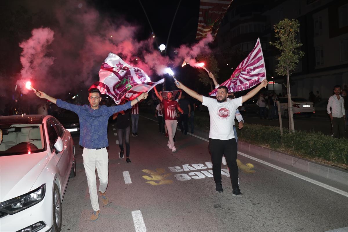 Hatayspor tarihinde ilk kez Süper Lig'de