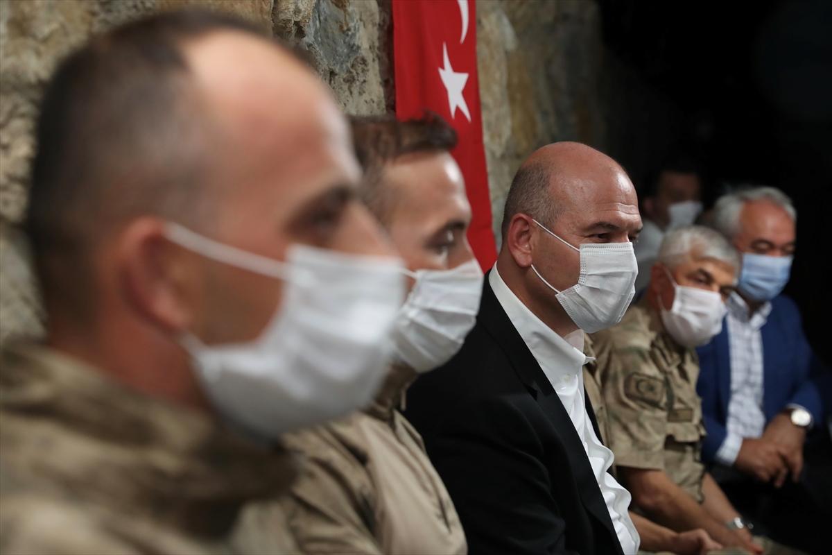 İçişleri Bakanı Süleyman Soylu, Şırnak'ta