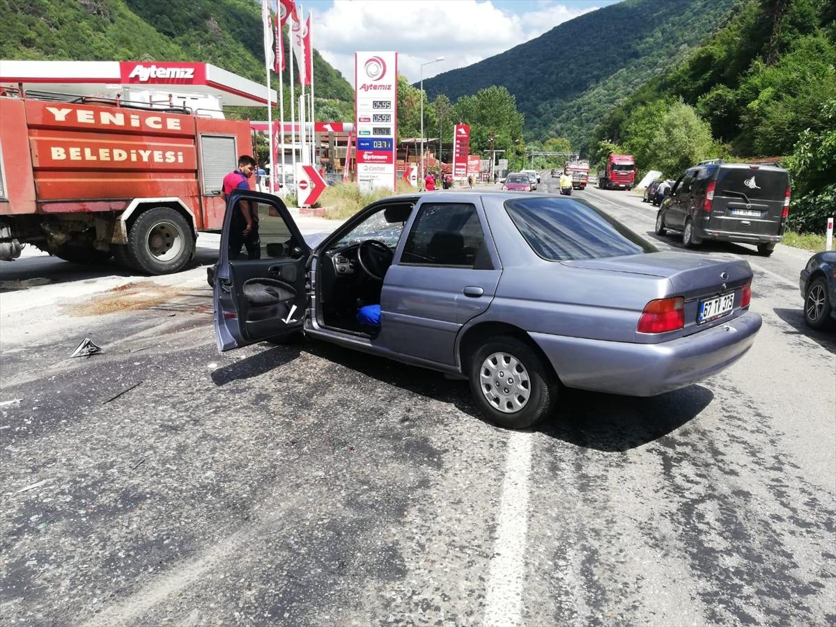 Karabük'teki trafik kazasında 7 kişi yaralandı