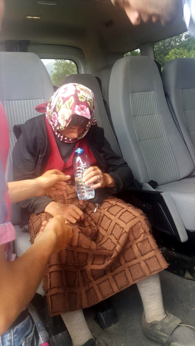 Sivas'ta kaybolan zihinsel engelli kadın jandarma ve AFAD ekiplerince bulundu