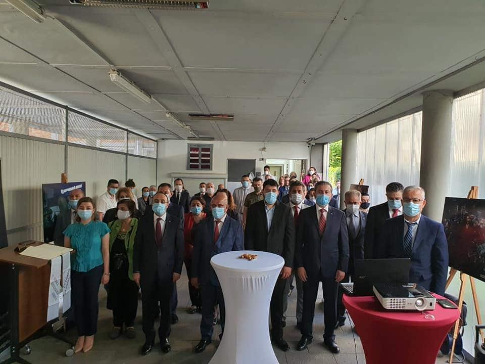 Frankfurt Başkonsolosluğunda, 15 Temmuz şehitleri dualarla anıldı