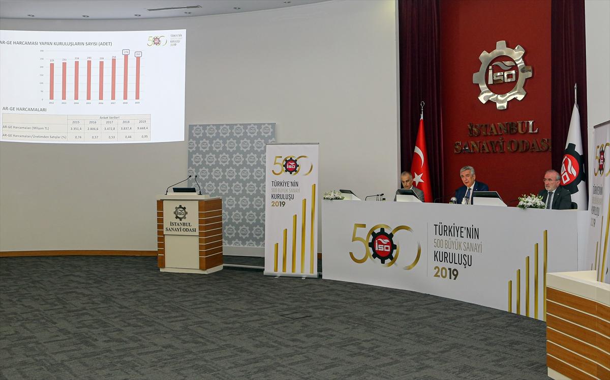 """""""Türkiye'nin 500 Büyük Sanayi Kuruluşu"""" araştırması (2)"""