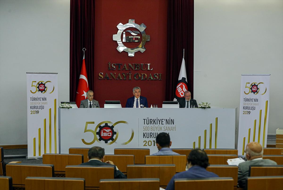 """""""Türkiye'nin 500 Büyük Sanayi Kuruluşu"""" Araştırması (1)"""