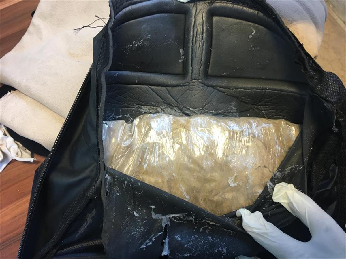 Van'da 5 kilo 635 gram eroin ele geçirildi