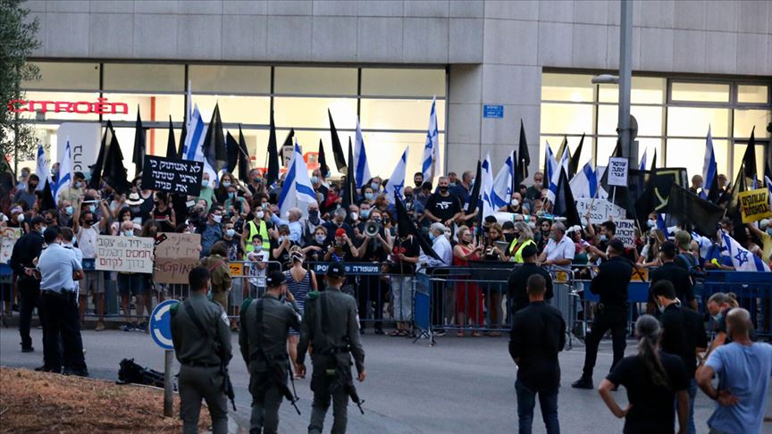 İsrail'de muhalefetin hayal kırıklığı ve hükümet karşıtı protestolar