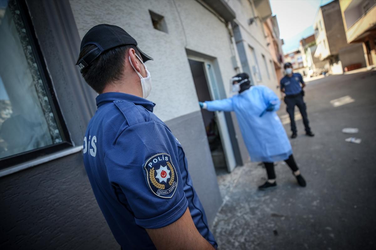 "Bursa'da Kovid-19 hastalarına ""izolasyon denetimi"""