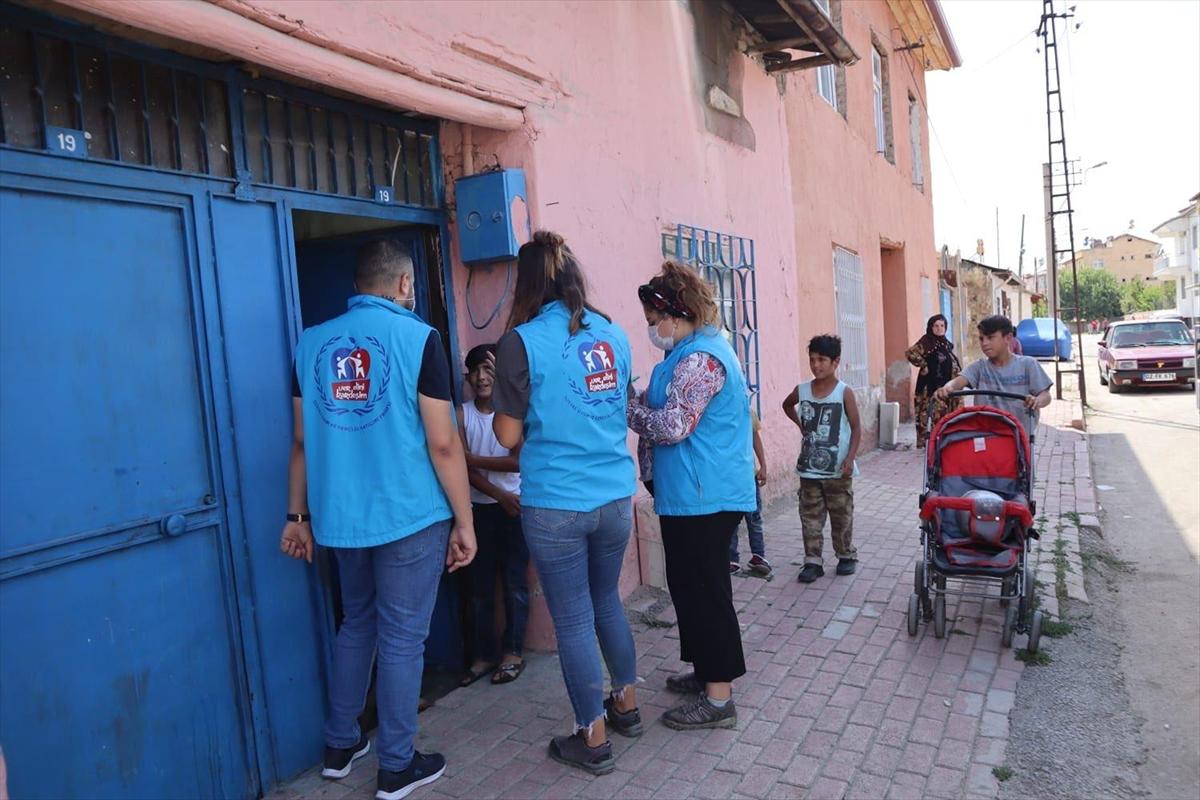 """Elazığ'da Suriyeli sığınmacılara yönelik """"Sosyal Uyum Projesi"""""""