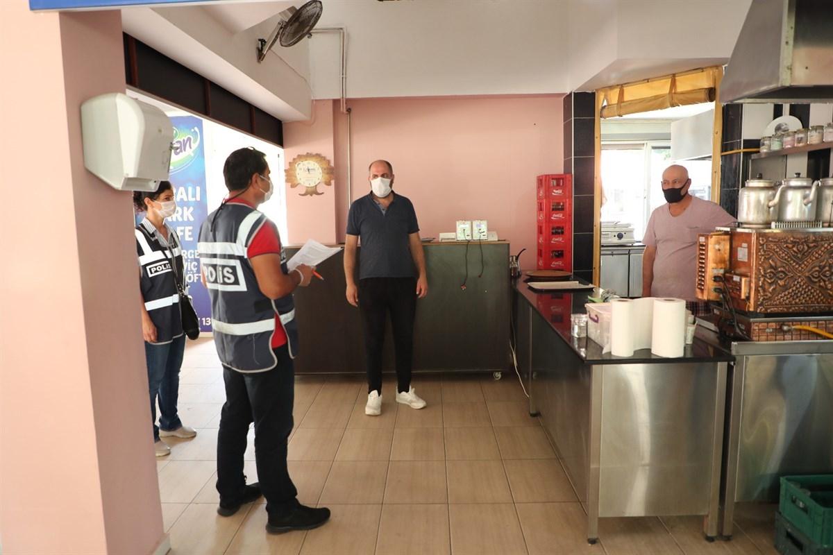 Samsun'da Kovid-19 denetimlerinde 106 bin 897 lira cezai işlem uygulandı