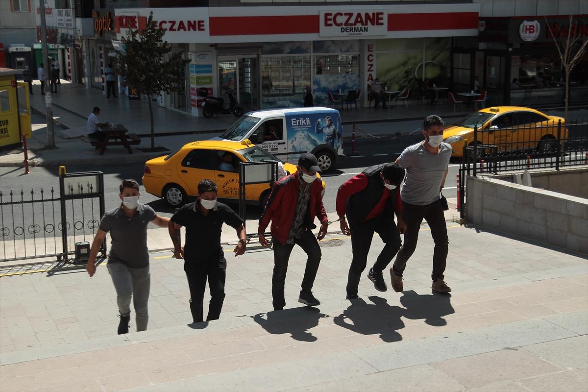 Tekirdağ'da mobilya mağazalarından hırsızlık yapan 3 şüpheli tutuklandı