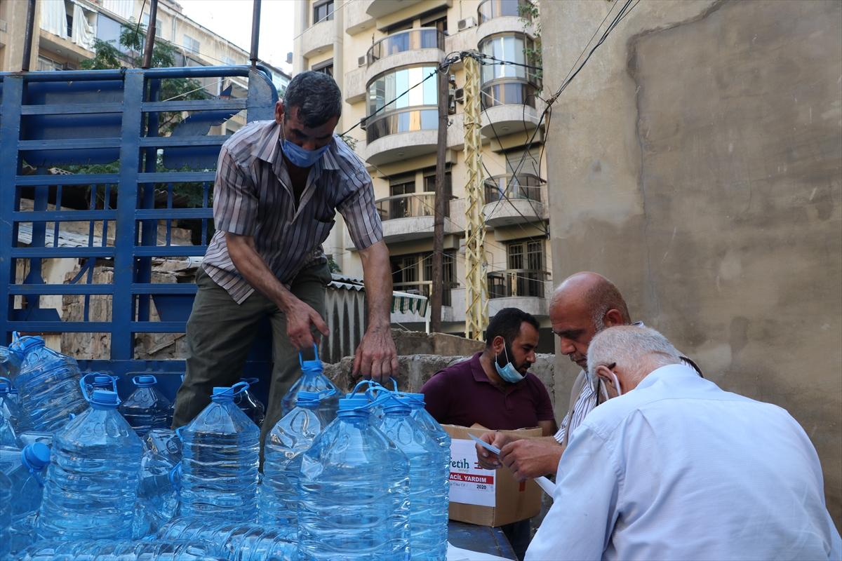 Türkiye STK'larıyla da Lübnan'ın yaralarını sarıyor