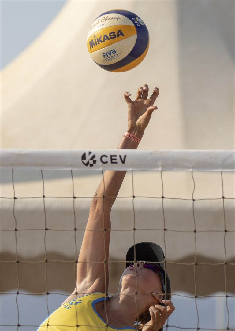 2020 CEV 18 Yaş Altı Plaj Voleybolu Avrupa Şampiyonası'nda kızlarda kazanan belli oldu
