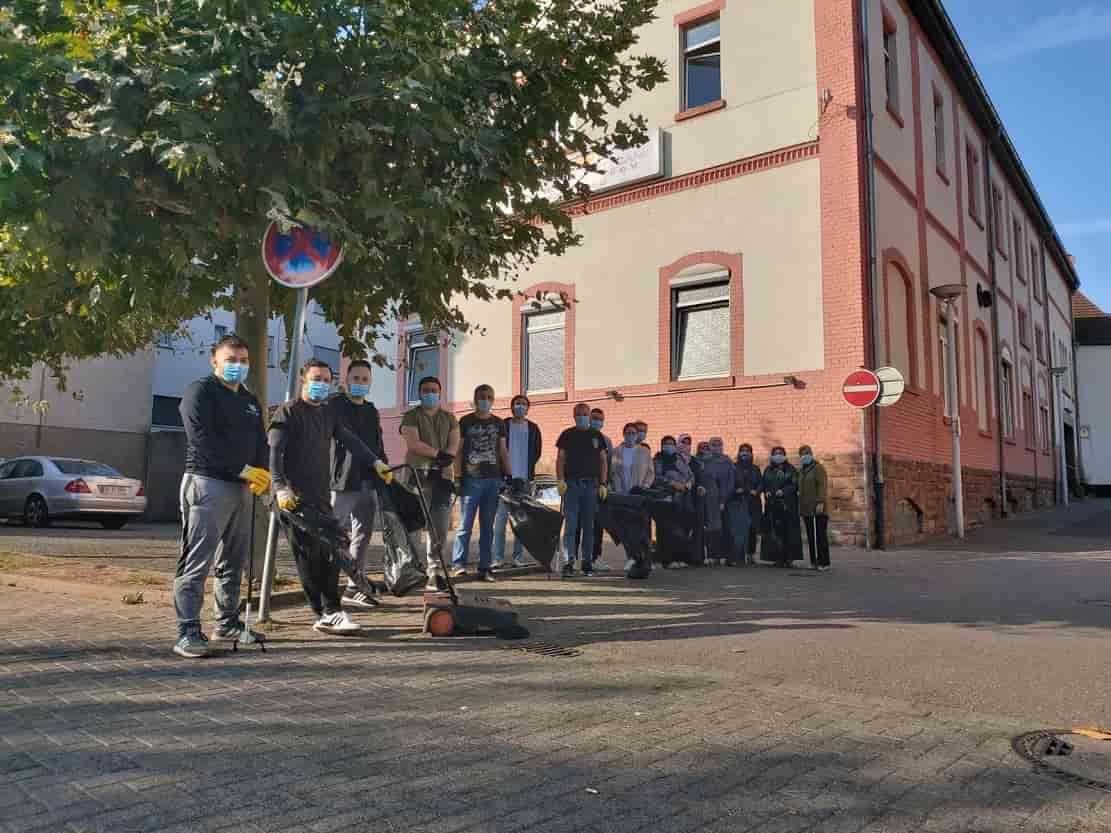Völklingen'de 'Dünya Temizlik Günü' etkinliği düzenlendi