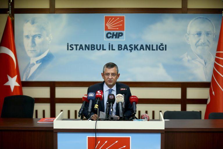 CHP Grup Başkanvekili Özgür Özel, gündemi değerlendirdi: