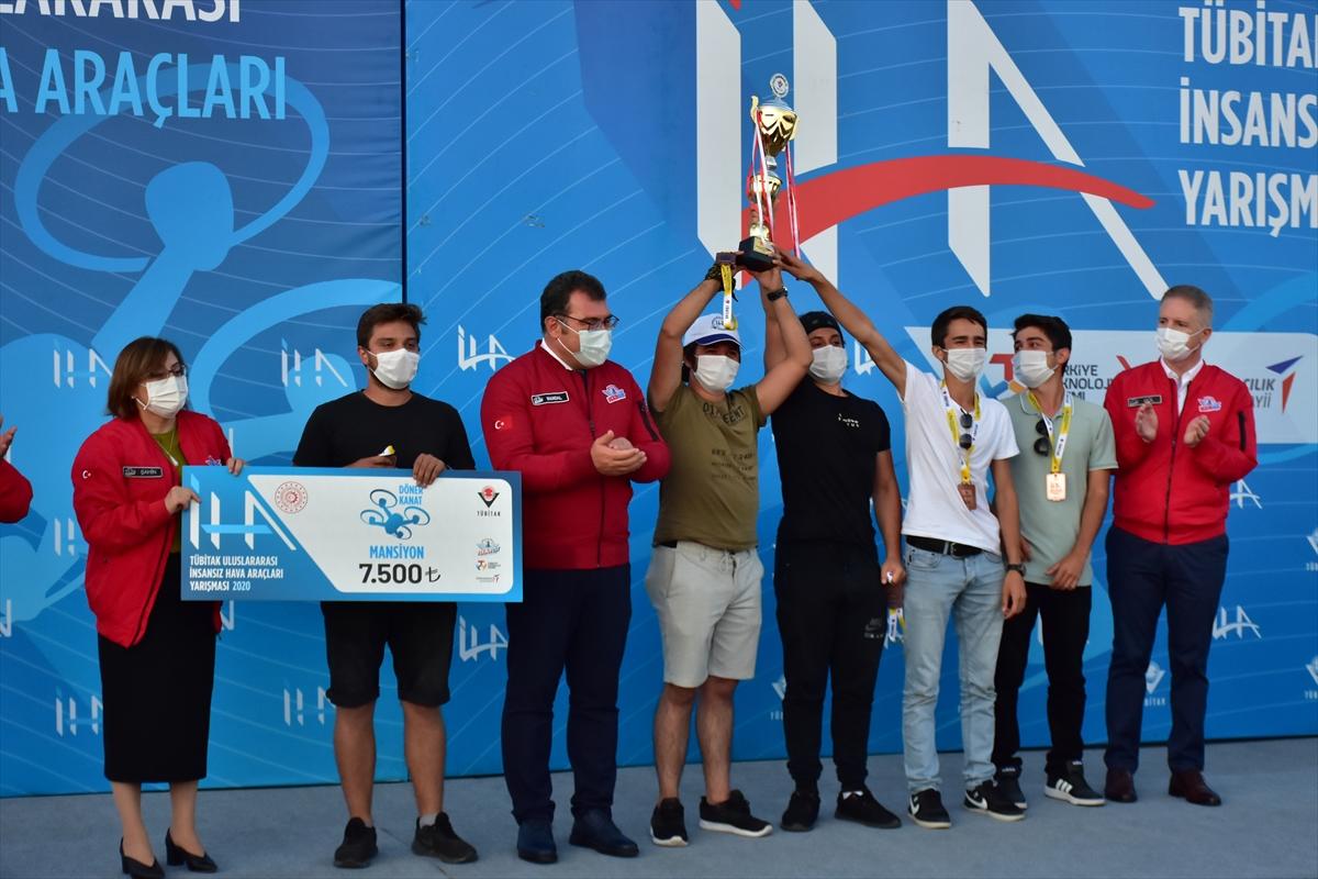 Gaziantep'te TEKNOFEST kapsamında düzenlenen İHA yarışları tamamlandı