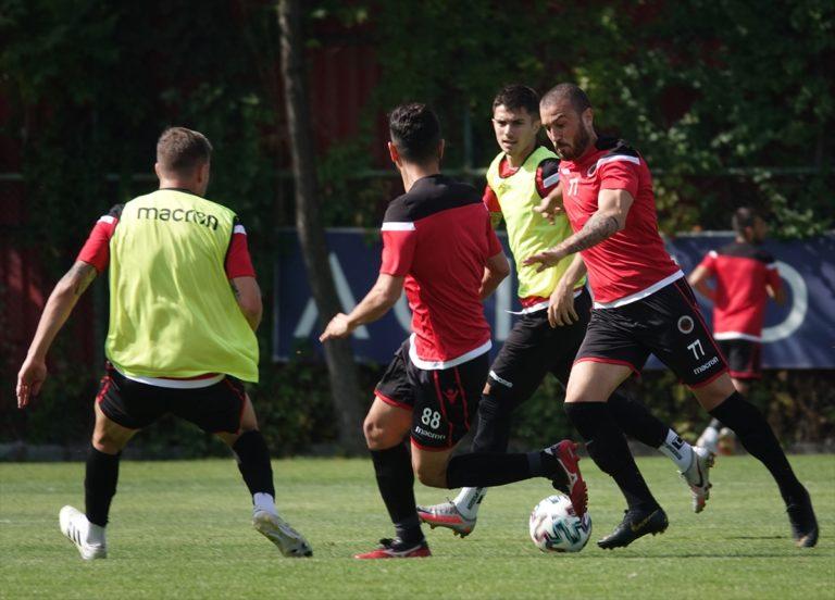 Gençlerbirliği'nde Beşiktaş maçı hazırlıkları sürüyor