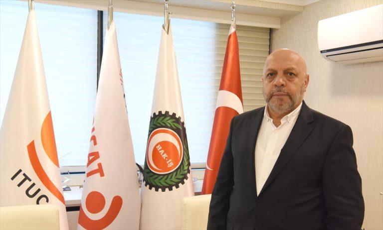 """Hak-İş Genel Başkanı Arslan: """"Dost ve kardeş ülke Azerbaycan halkının yanındayız"""""""