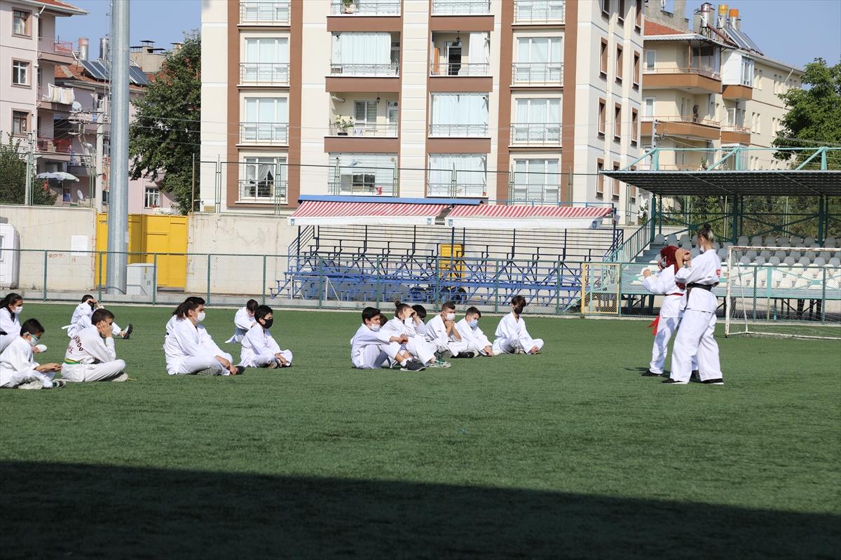 Kyokushin Kata ve Kumite Gelişim Semineri Çubuk'ta yapıldı