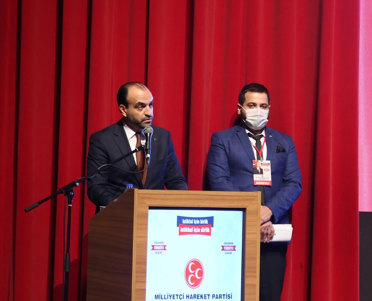 MHP'li Büyükataman, Bursa'da partisinin il kongresinde konuştu: