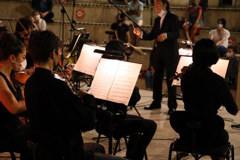 """SAMDOB, """"Mozart, Respighi ve Taviloğlu Akşamı"""" konseri verdi"""