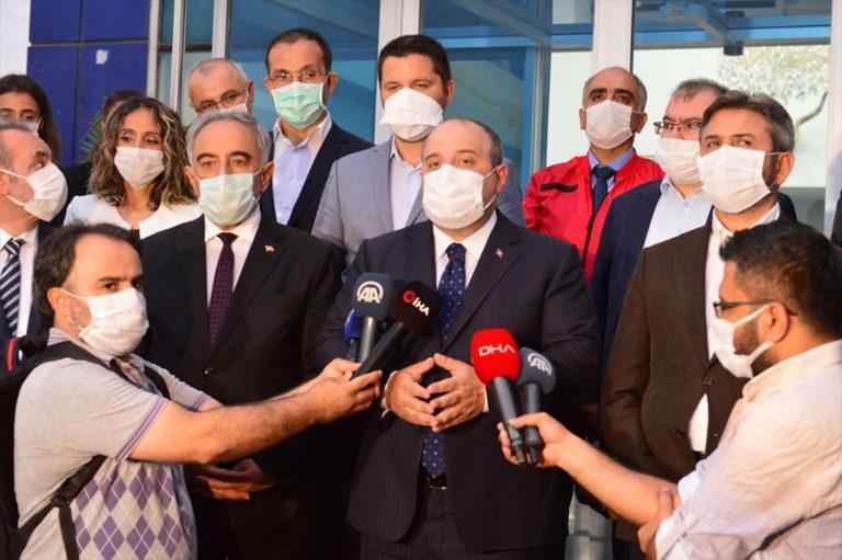 Bakan Varank TÜBİTAK Kovid-19 Türkiye Platformu çatısı altındaki aşı çalışmalarını değerlendirdi: