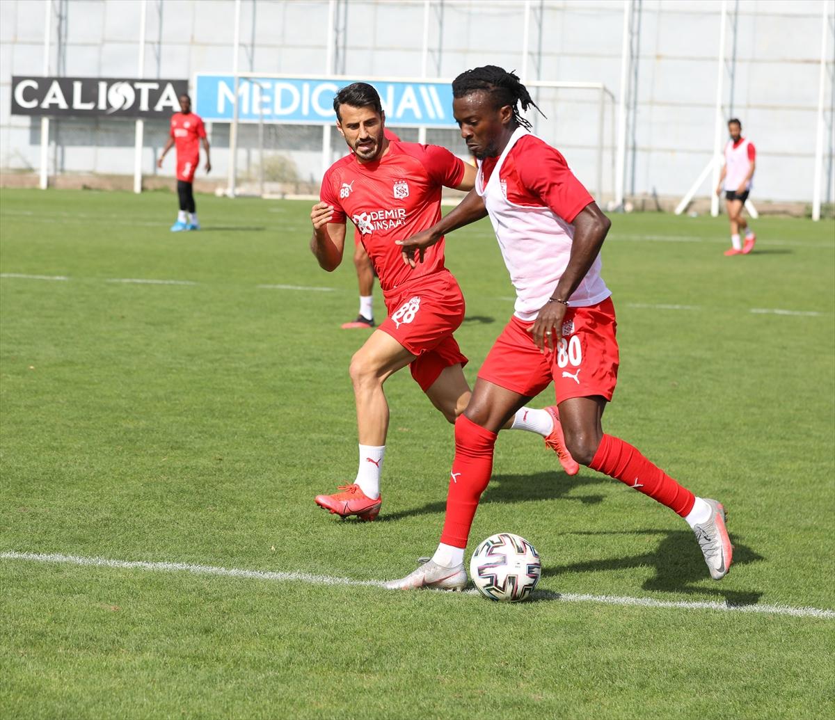 Sivasspor, MKE Ankaragücü maçı hazırlıklarını tamamladı