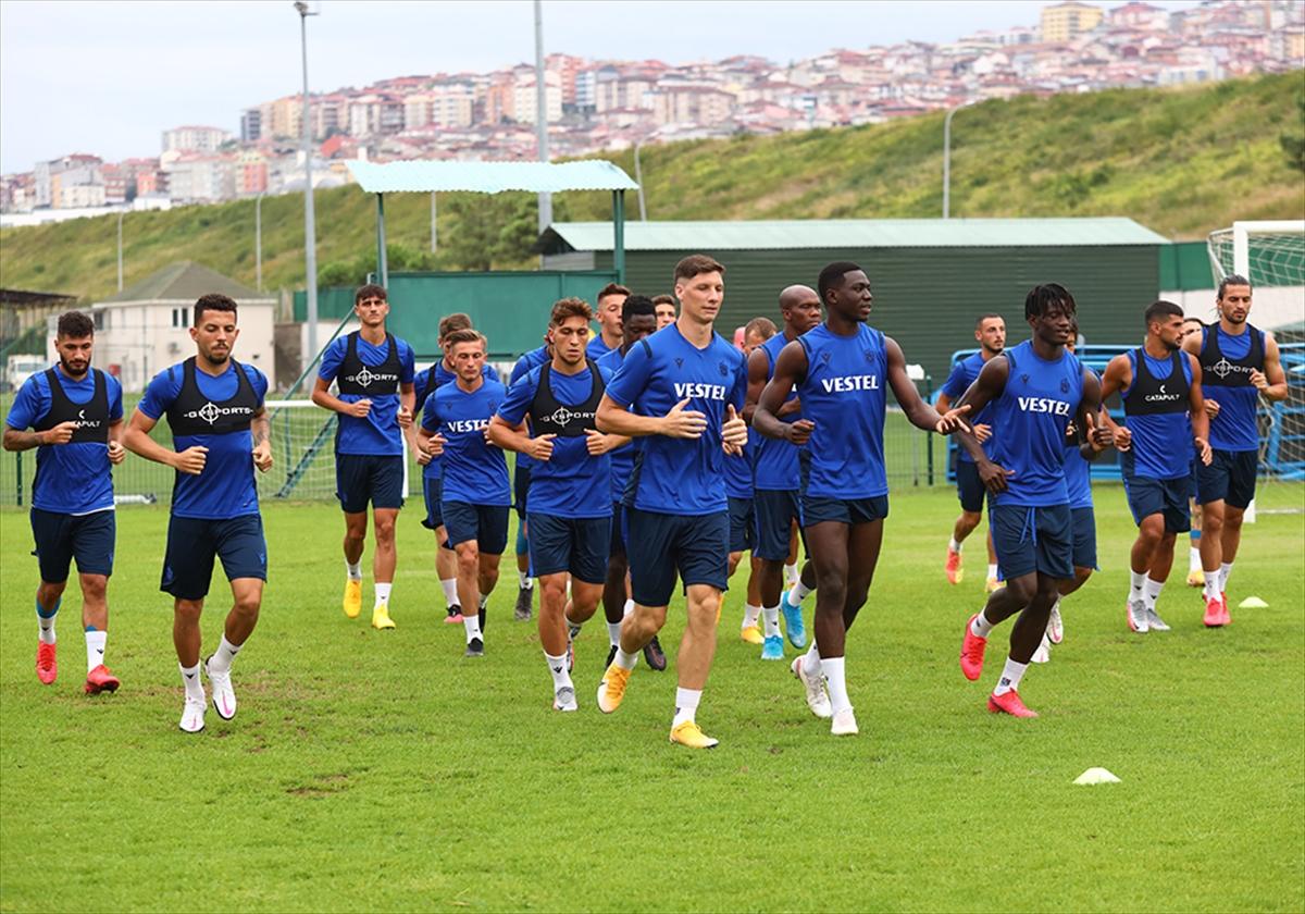 Trabzonspor, Beşiktaş maçının hazırlıklarını tamamladı