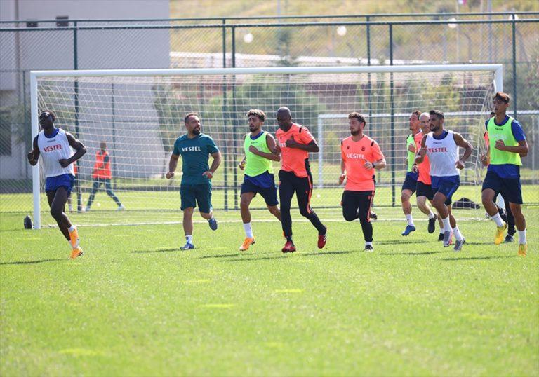Trabzonspor Gaziantep FK maçı hazırlıklarına başladı