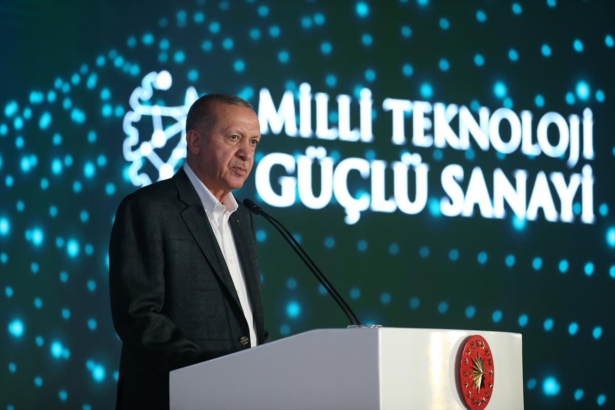 Cumhurbaşkanı Erdoğan, Gaziantep 300 Fabrika Toplu Açılış Töreni'nde konuştu: (1)