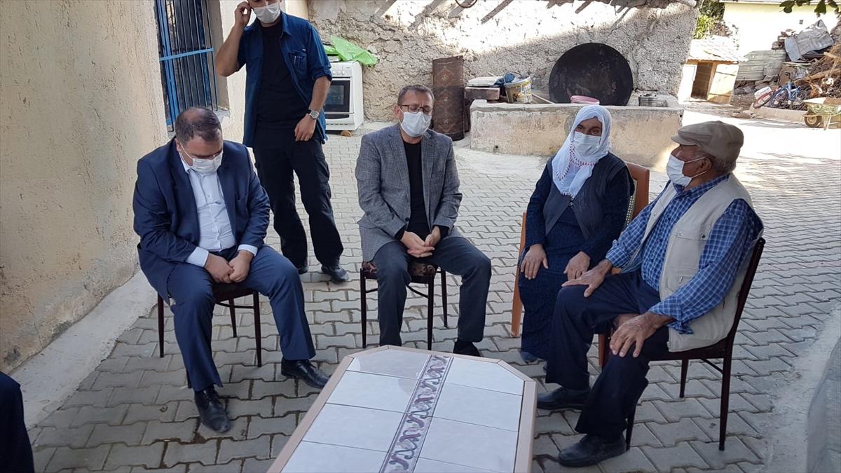 Yozgatlı şehit ailesinden Bakan Murat Kurum'a teşekkür