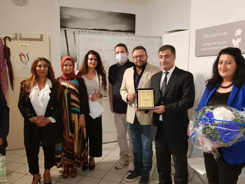 Ludwigshafen Türk Toplumu Platformu UTG'de sınav günü