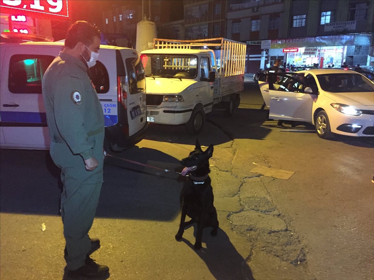Adana'da helikopter ve drone destekli narkotik uygulaması