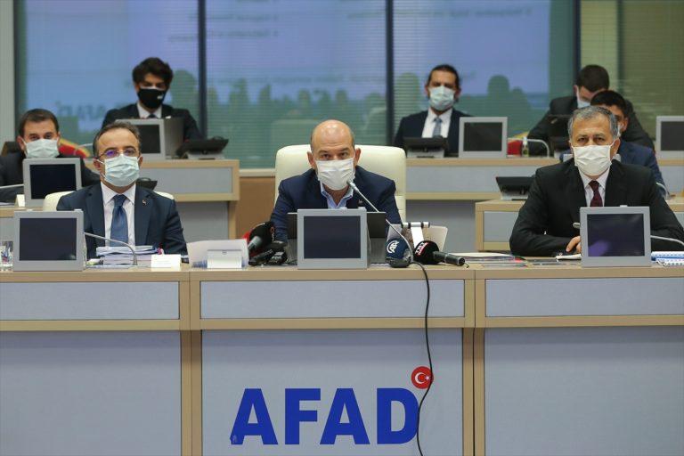 İçişleri Bakanı Süleyman Soylu, 3 Kasım Salı günü, İstanbul Kağıthane'de toplanma alanlarına ilişkin tahliye planı tatbikatının ilk adımının gerçekleştirileceğini bildirdi.