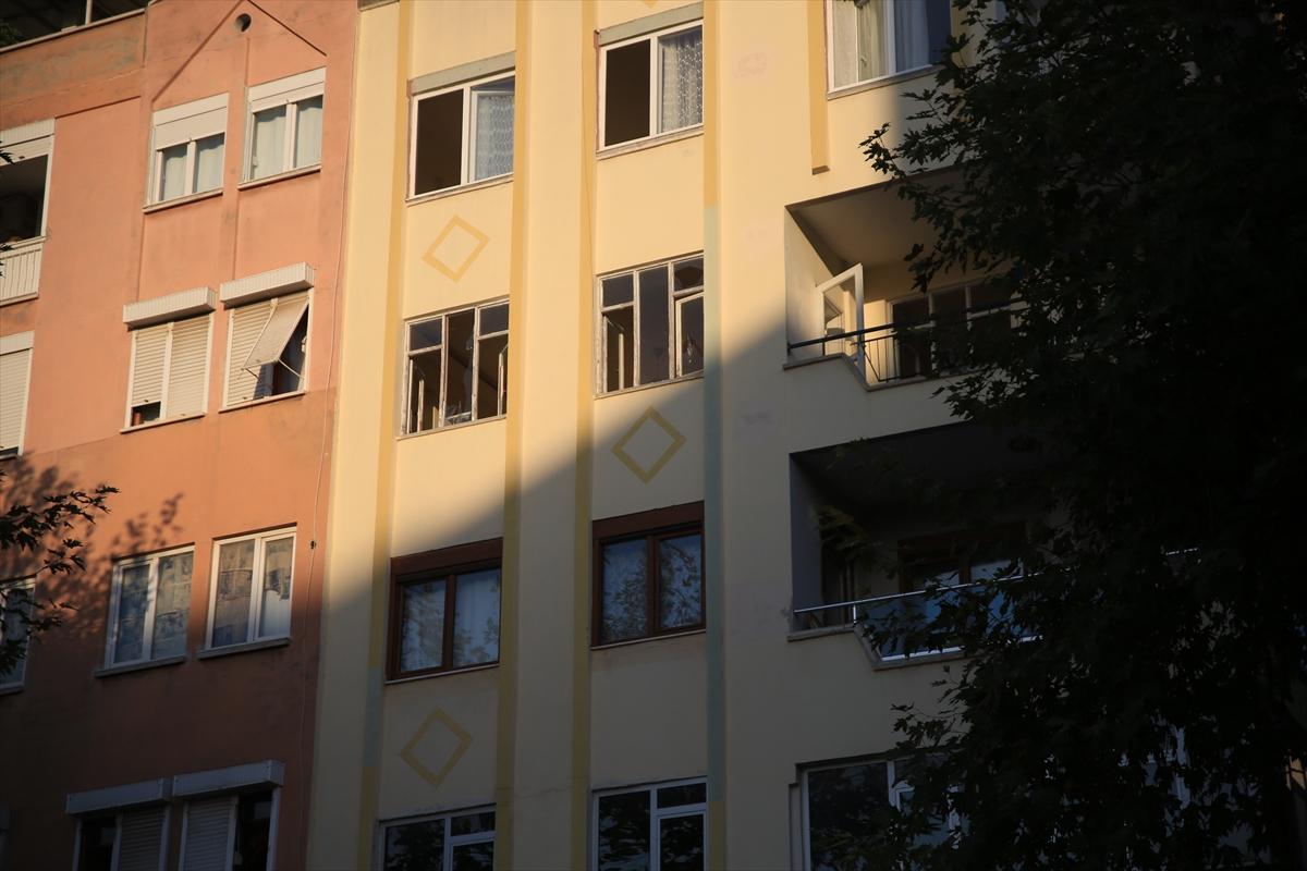 Antalya'da evde meydana gelen patlamada 1 kişi yaralandı