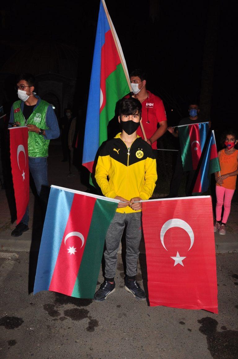Antalya'dan Azerbaycan'a destek konvoyu