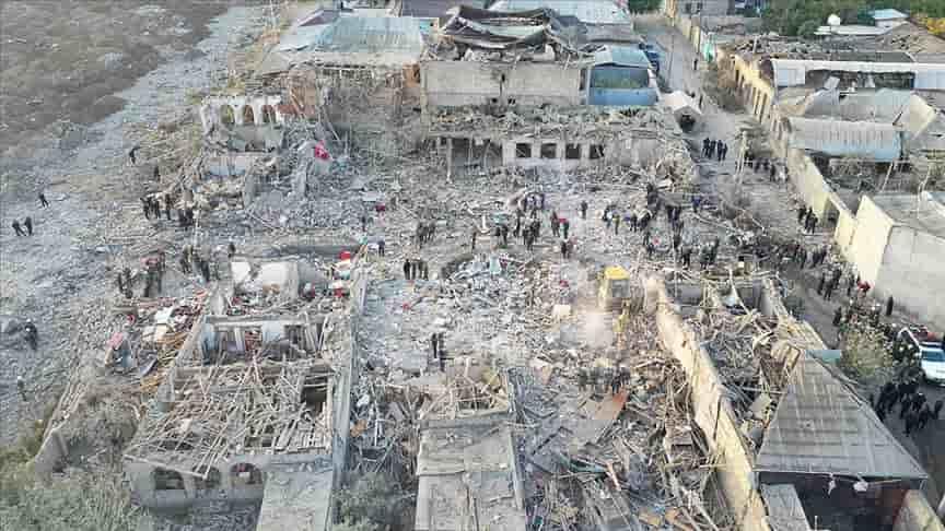 Ermenistan'ın füze saldırıları açık savaş suçu