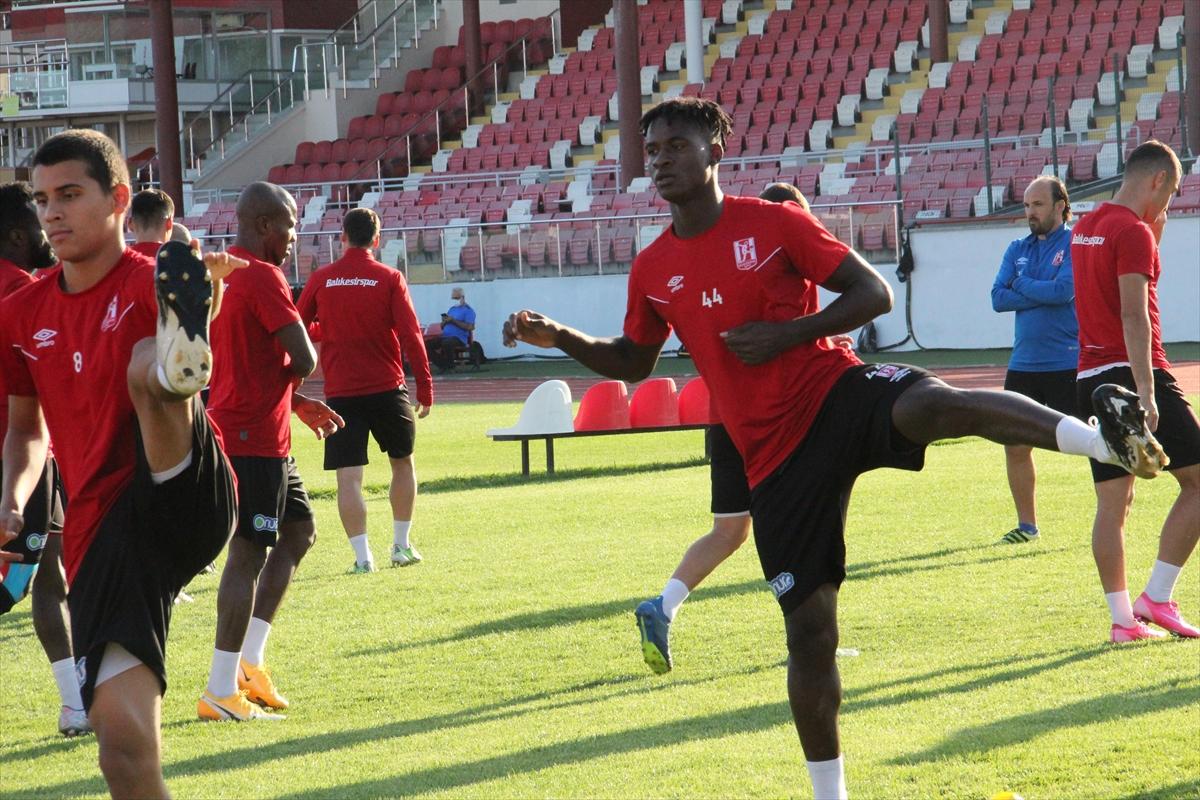 Balıkesirspor, Bursaspor maçı hazırlıklarını sürdürdü