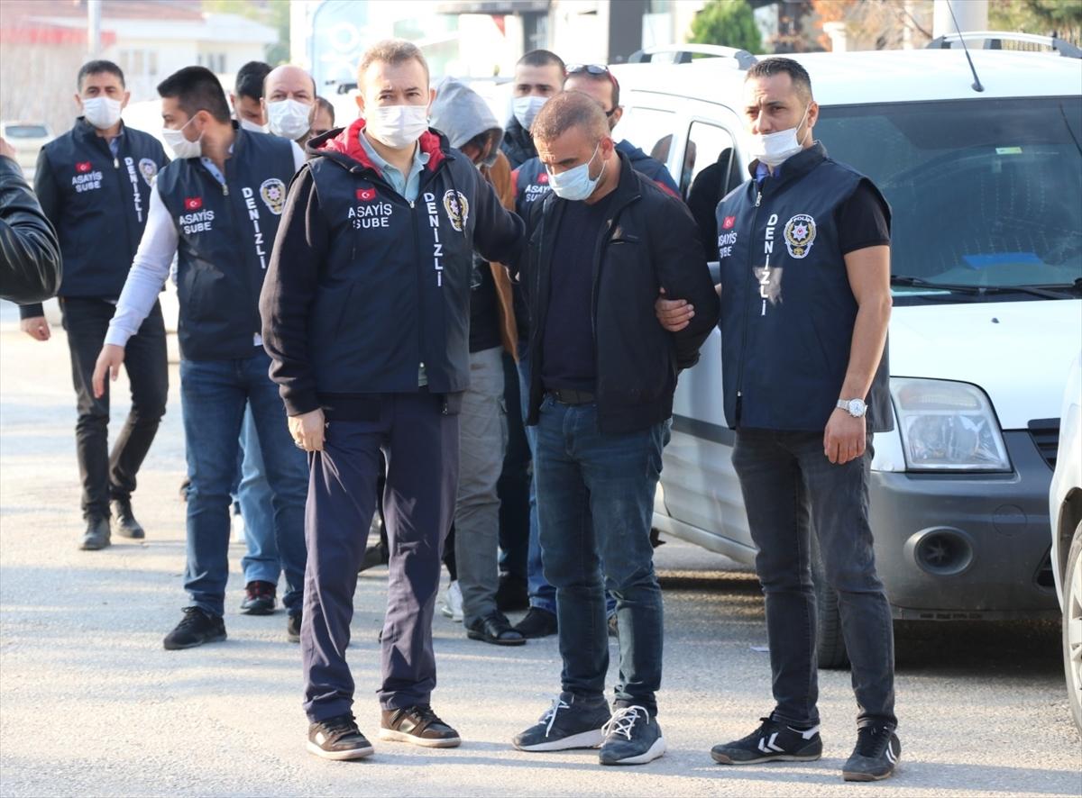 Denizli'de para toplama merkezini soymaya çalıştığı öne sürülen 6 kişi yakalandı