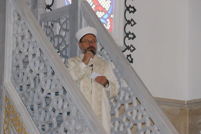 Diyanet İşleri Başkanı Ali Erbaş, Ağrı'da cami açılışı yaptı: