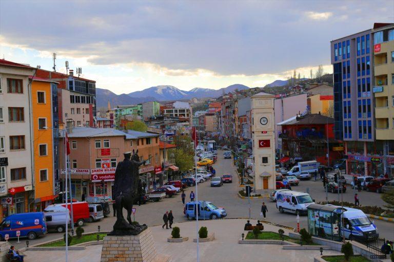 Erzurum'da bir mahalle Kovid-19 nedeniyle karantinaya alındı