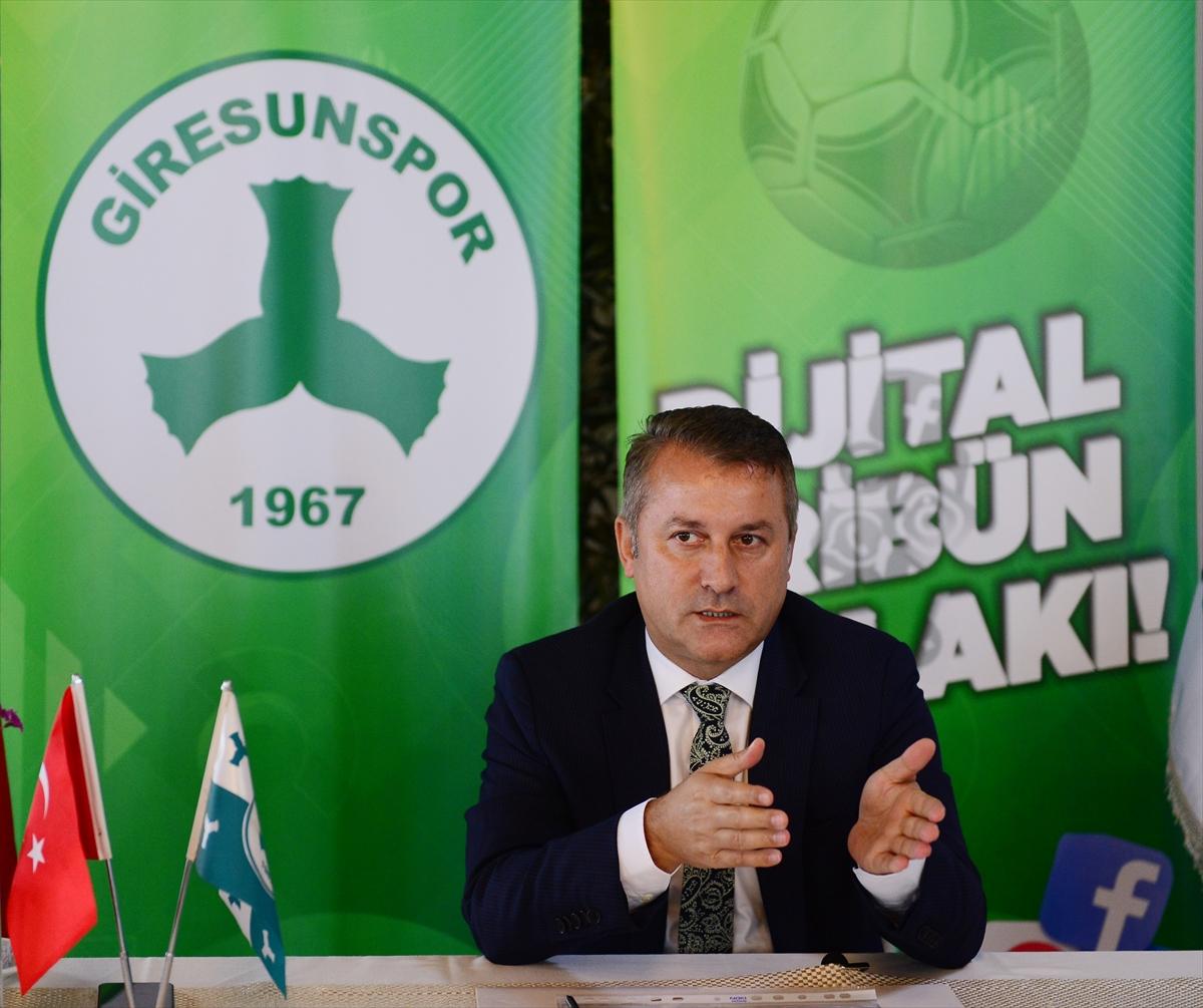 """Giresunspor Kulübü Başkanı Hakan Karaahmet: """"Kimse gerçek borç miktarını söylememiş"""""""