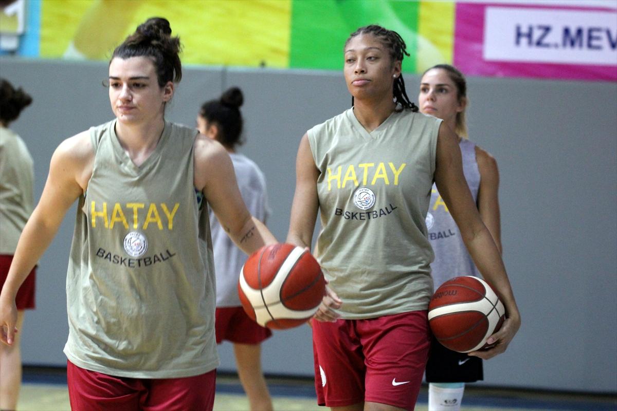 Hatay Büyükşehir Belediyespor Kadın Basketbol Takımı'nda hedef üst sıralar