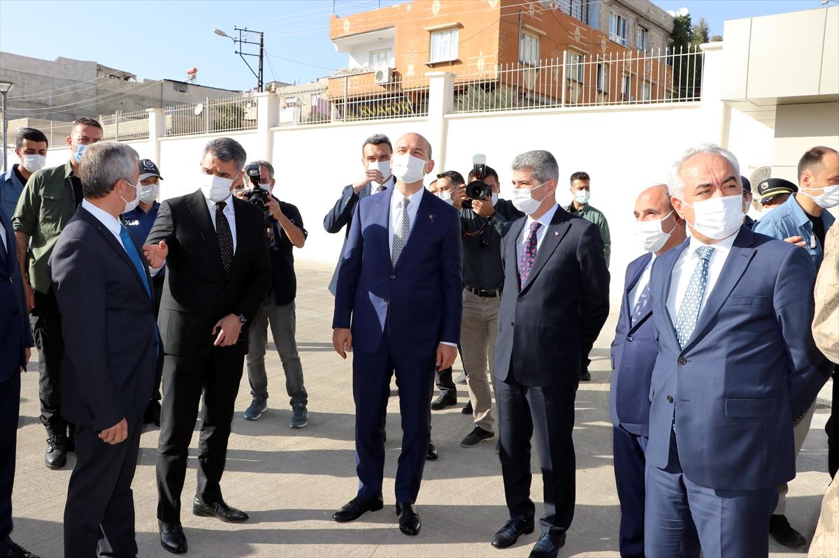 İçişleri Bakanı Süleyman Soylu Gaziantep'te temaslarda bulundu